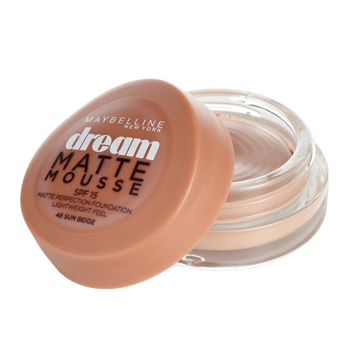 Maybelline Dream Matte Mousse Foundation 18ml 48 Sun Beige