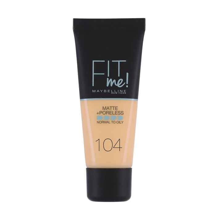 Maybelline Fit Me Matte + Poreless Foundation - 104 Soft Ivory