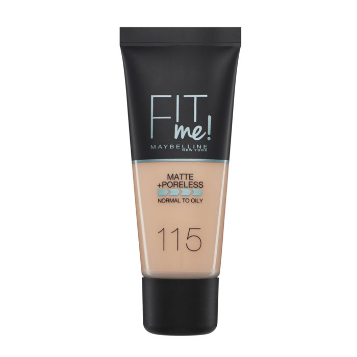 Maybelline Fit Me Matte + Poreless Foundation - 115 Ivory