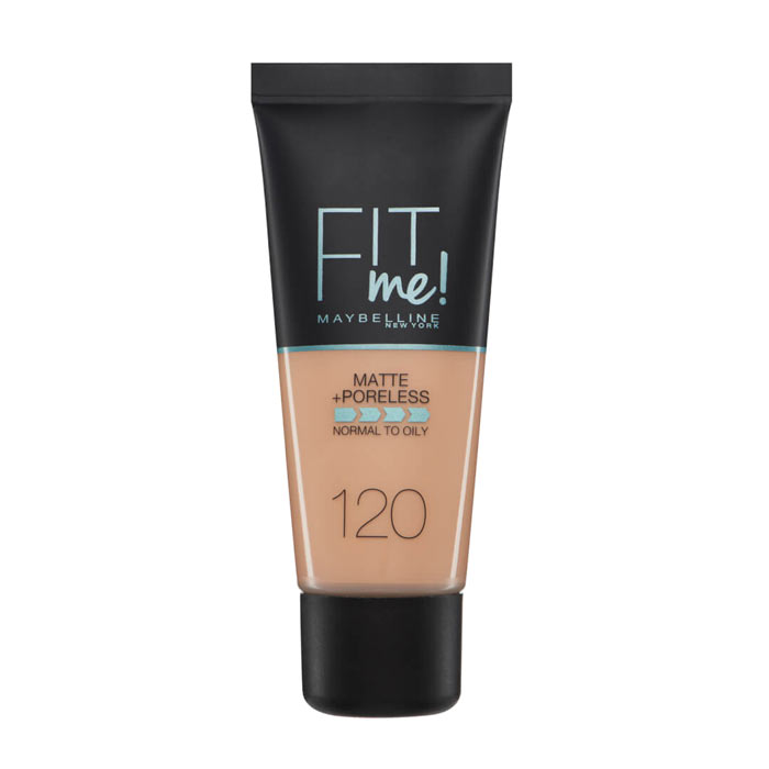 Maybelline Fit Me Matte + Poreless Foundation- 120 Classic Ivory