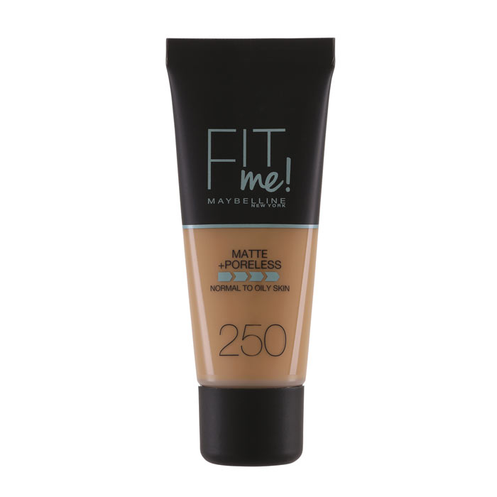 Maybelline Fit Me Matte + Poreless Foundation - 250 Sun Beige