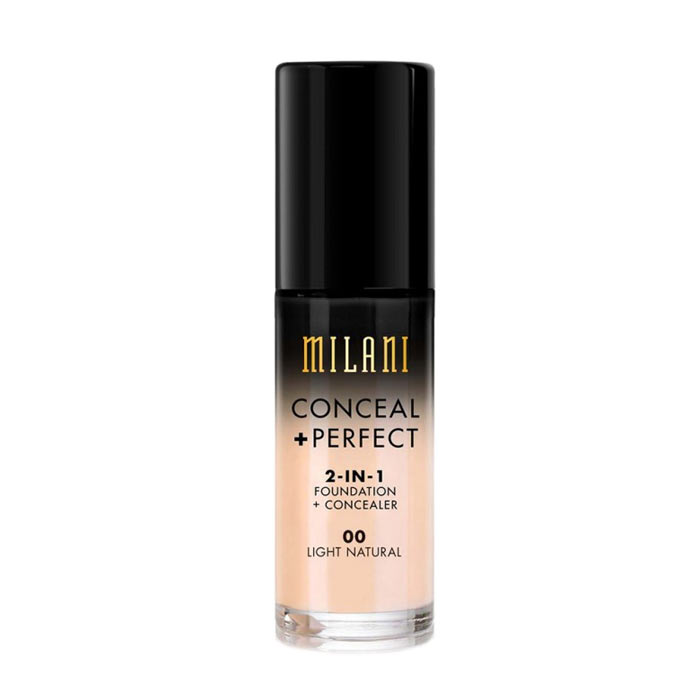Milani Conceal+Perfect Liquid Foundation - 00 Light natural