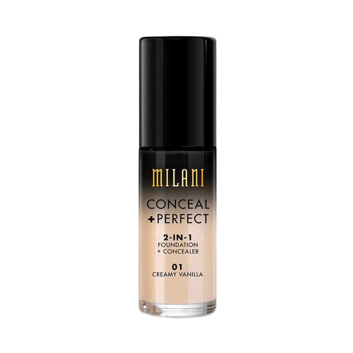 Milani Conceal+Perfect Liquid Foundation - 01 Creamy Vanilla