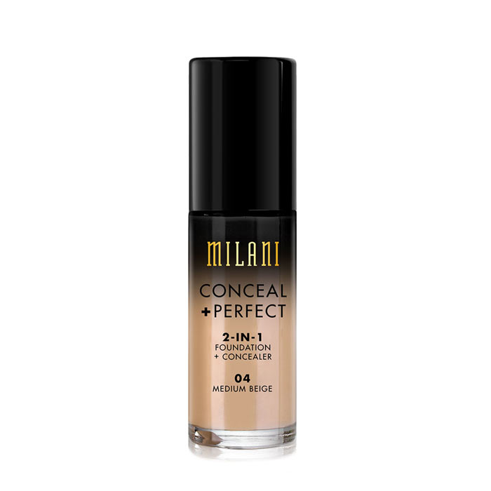 Milani Conceal+Perfect Liquid Foundation - 04 Medium Beige