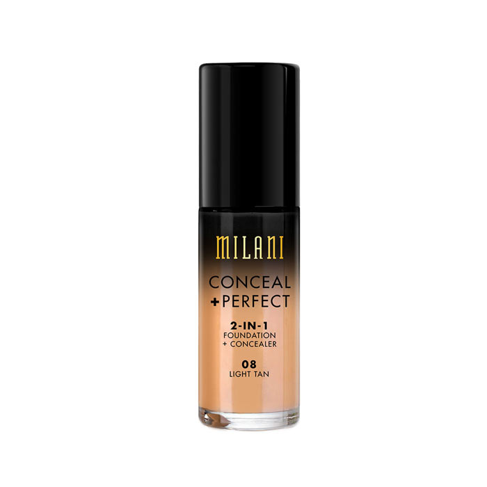 Milani Conceal+Perfect Liquid Foundation - 08 Light Tan