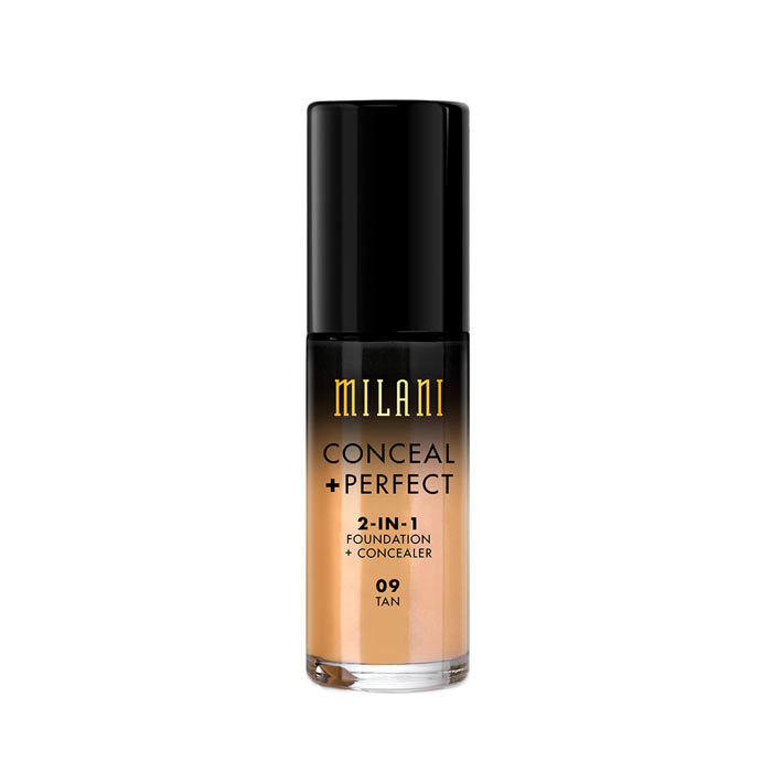 Milani Conceal+Perfect Liquid Foundation - 09 Tan