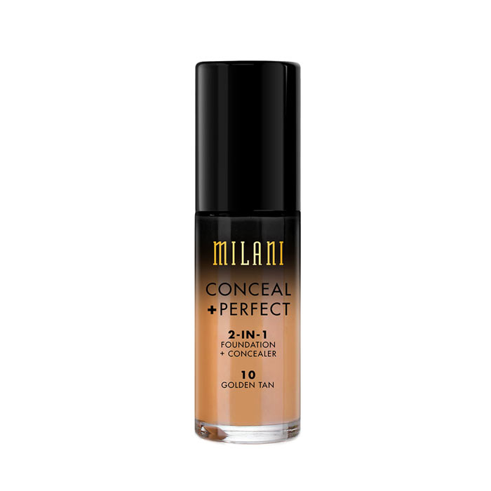 Milani Conceal+Perfect Liquid Foundation - 10 Golden Tan