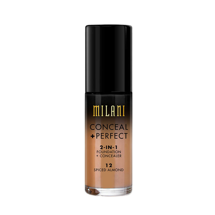 Milani Conceal+Perfect Liquid Foundation - 12 Spiced Almond