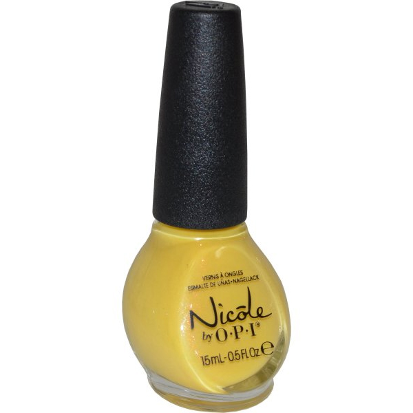 Nicole by OPI Nail Lacquer 15ml Yellow It`s Me