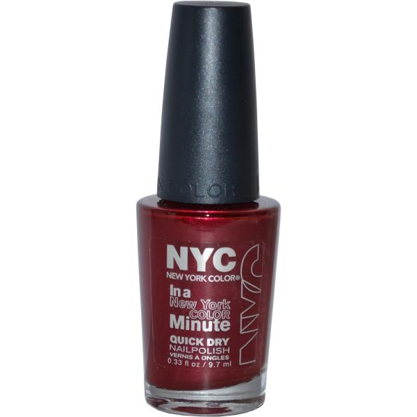 NYC New York Color Quick Dry Nail Polish 9.7ml Chelsea