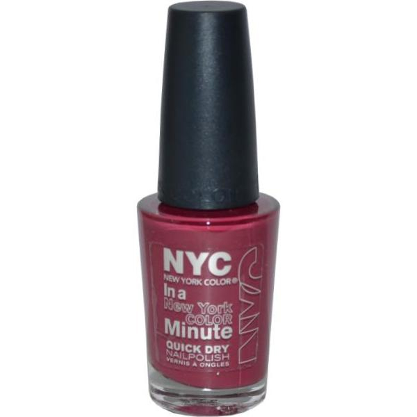 NYC New York Color Quick Dry Nail Polish 9.7ml Downtown