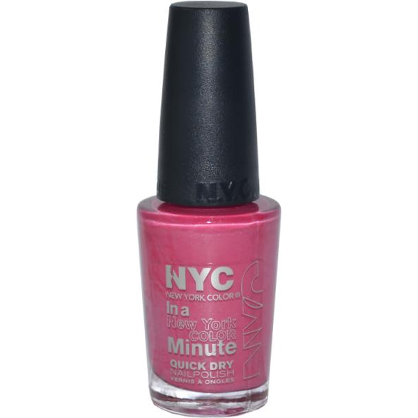 NYC New York Color Quick Dry Nail Polish 9.7ml Uptown