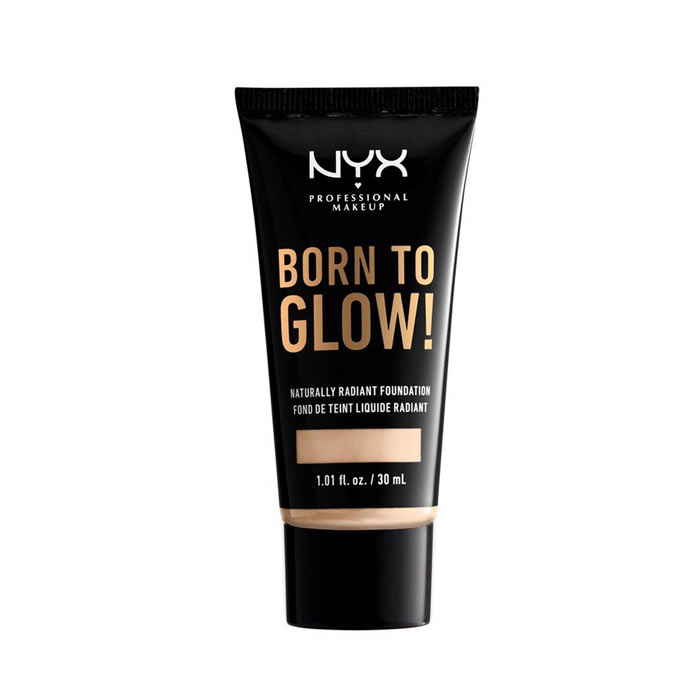 NYX Born To Glow Naturally Radiant Foundation 30ml - Fair