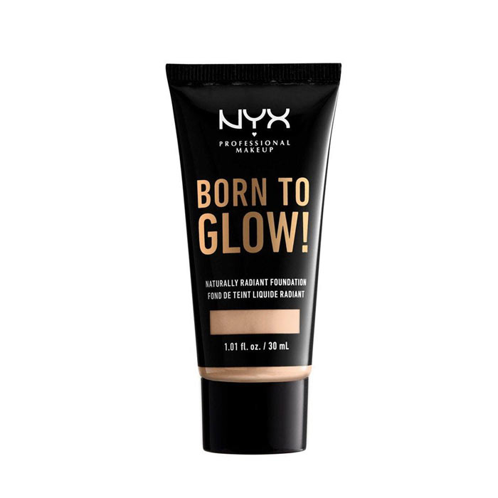 NYX Born To Glow Naturally Radiant Foundation 30ml - Light Ivory