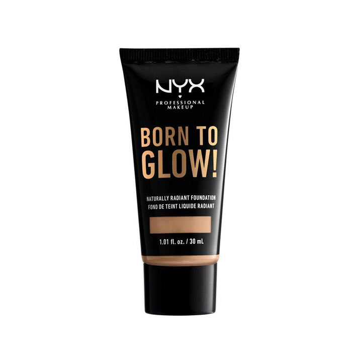 NYX Born To Glow Naturally Radiant Foundation 30ml - Medium Olive
