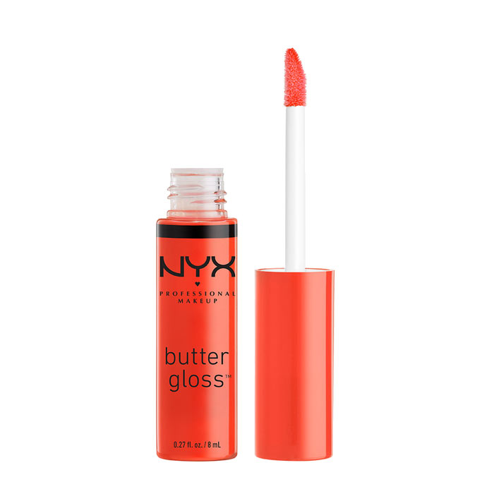 NYX PROF. MAKEUP Butter Gloss -06 Peach Cobbler