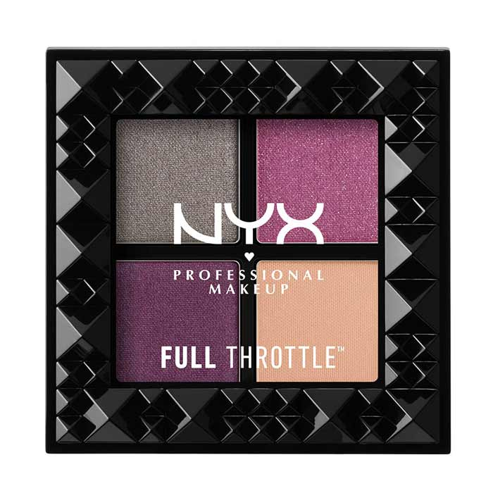 NYX PROF. MAKEUP Full Throttle Shadow Palette Bossy