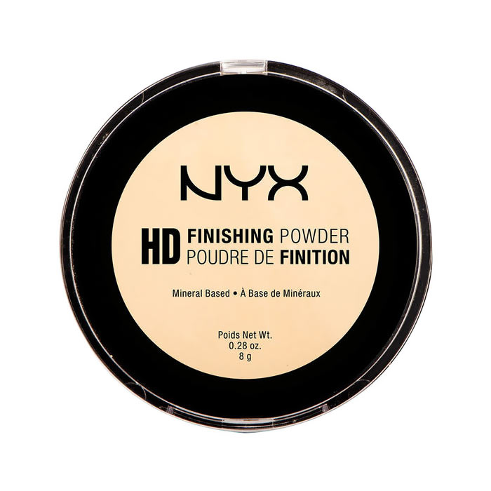 NYX PROF. MAKEUP High Definition Finishing Powder - 02 Banana