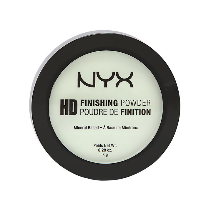 NYX PROF. MAKEUP High Definition Finishing Powder - 03 Mint Green