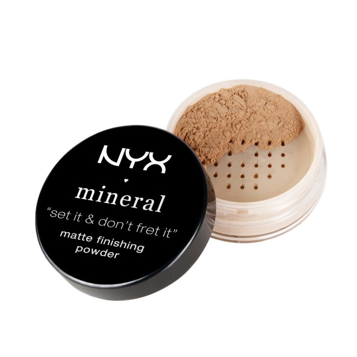 NYX Mineral Finishing Powder Medium Dark