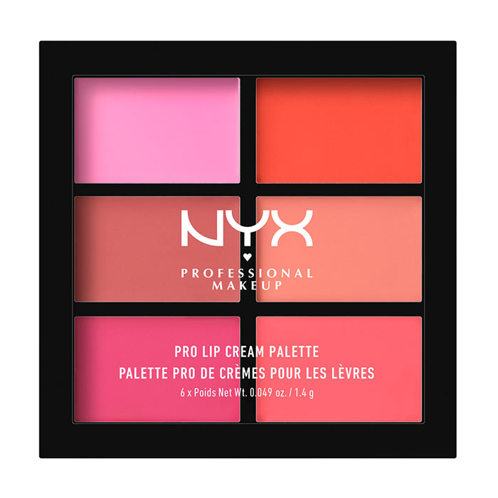 NYX PROF. MAKEUP Pro Lip Cream Palette - Pinks