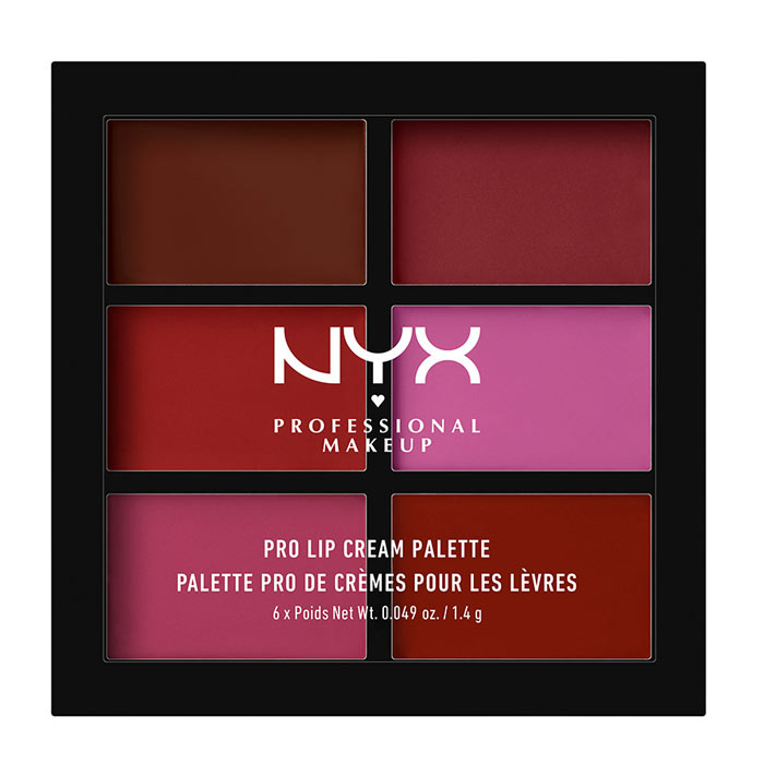 NYX Pro Lip Cream Palette - Plums