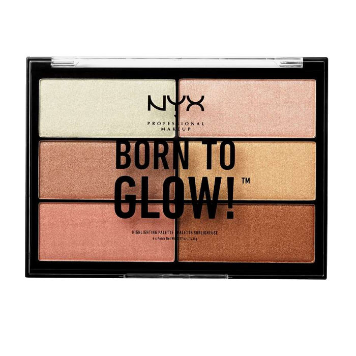 NYX PROF. MAKEUP Born To Glow Highlighting Palette
