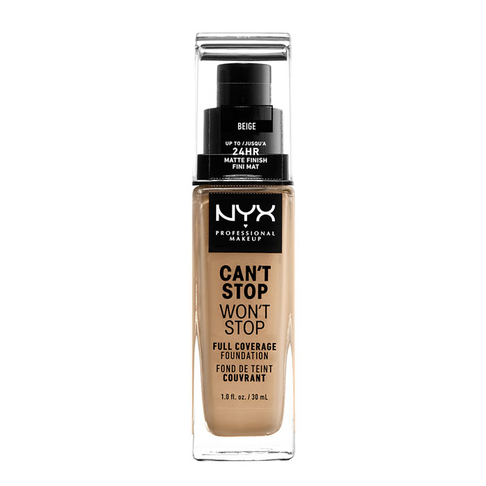 NYX PROF. MAKEUP Can t Stop Won t Stop Foundation - Beige