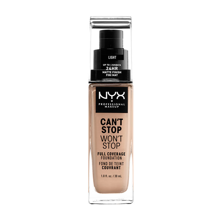 NYX PROF. MAKEUP Can t Stop Won t Stop Foundation - Light
