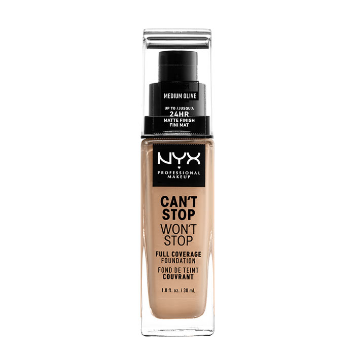 NYX PROF. MAKEUP Can t Stop Won t Stop Foundation - Medium Olive