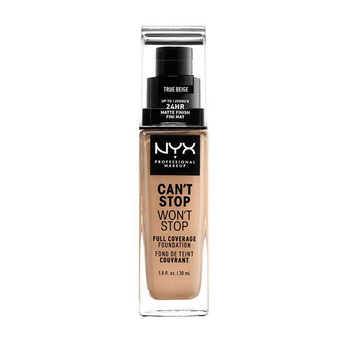 NYX PROF. MAKEUP Can t Stop Won t Stop Foundation - True beige