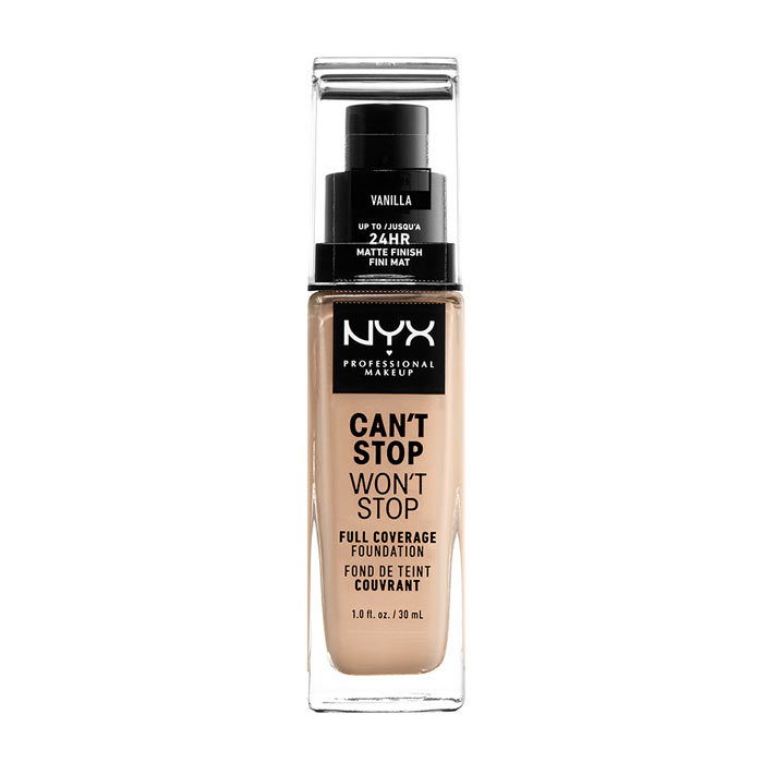 NYX PROF. MAKEUP Can t Stop Won t Stop Foundation - Vanilla