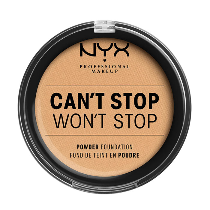 NYX PROF. MAKEUP Can t Stop Won t Stop Powder Foundation - True Beige