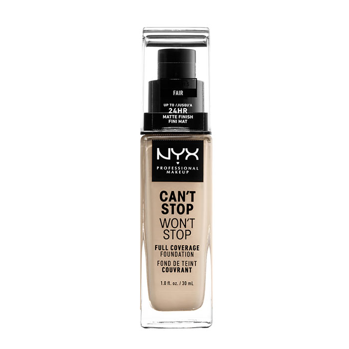 NYX PROF. MAKEUP Can't Stop Won't Stop Foundation - Fair
