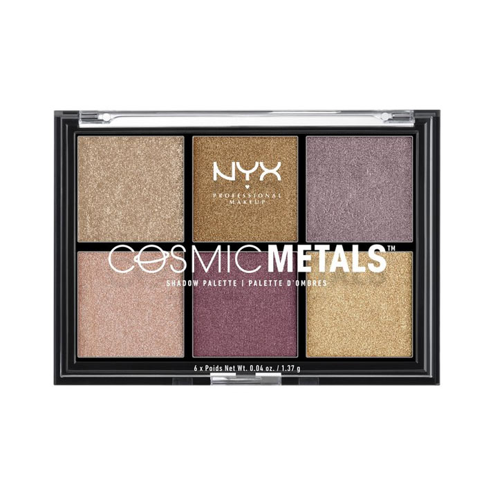 NYX PROF. MAKEUP Cosmic Metals Shadow Palette