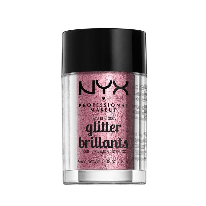 NYX PROF. MAKEUP Face & Body Glitter - 02 Rose 2,5g