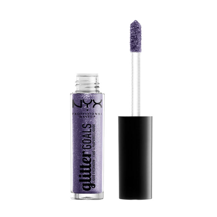 NYX PROF. MAKEUP Glitter Goals Liquid Eyeshadow -  Retrograde