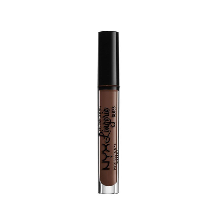 Swish NYX PROF. MAKEUP Lip Lingerie Gloss - Honeymoon