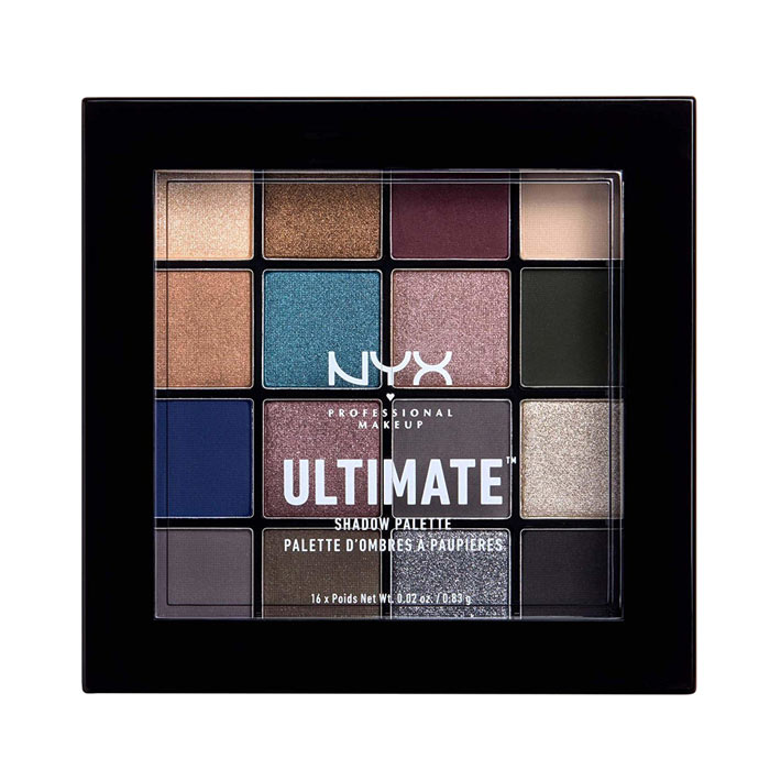 NYX PROF. MAKEUP Makeup Ultimate Shadow Palette - Ash