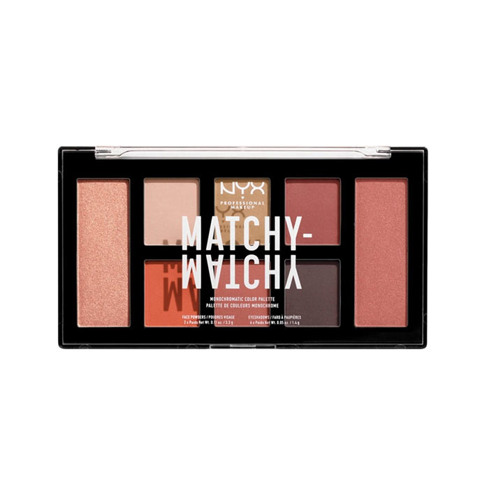 Swish NYX PROF. MAKEUP Matchy Matchy Monochromatic Color Palette - Berry Mauve