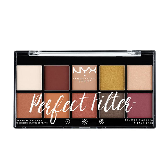 NYX PROF. MAKEUP Perfect Filter Shadow Palette Rustic Antiqu