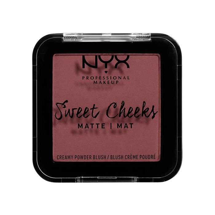 NYX PROF. MAKEUP Sweet Cheeks Creamy Matte Powder Blush - Fig