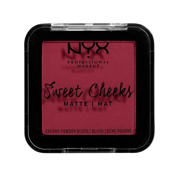 NYX PROF. MAKEUP Sweet Cheeks Creamy Matte Powder Blush - Risky Business