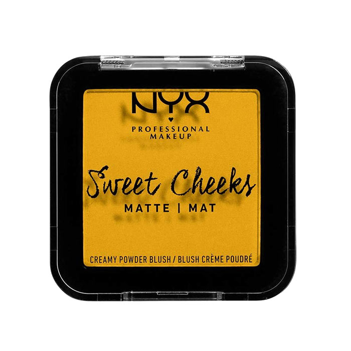 NYX PROF. MAKEUP Sweet Cheeks Creamy Matte Powder Blush - Silence Is Golden