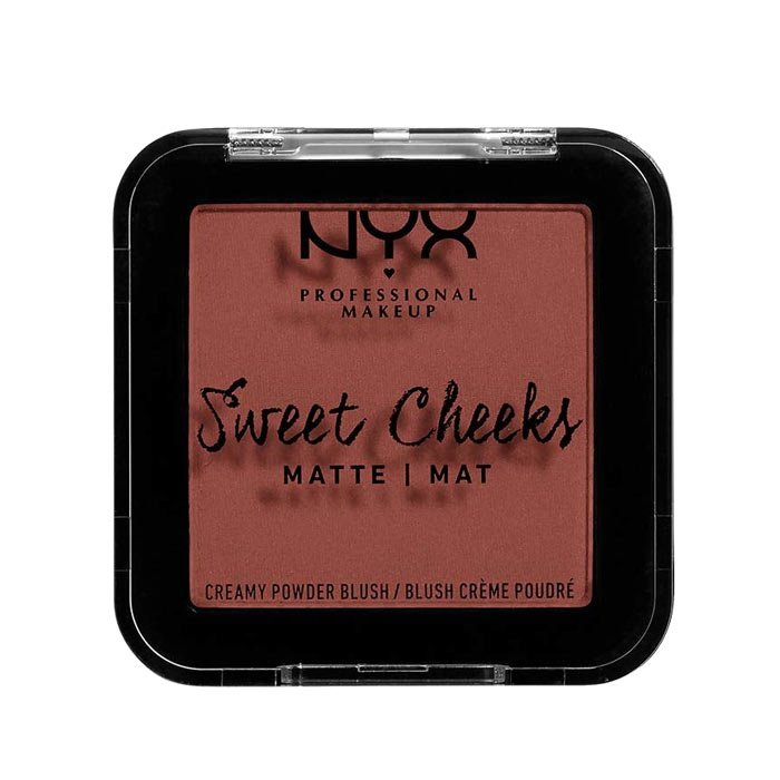 NYX PROF. MAKEUP Sweet Cheeks Creamy Matte Powder Blush - Totally Chill