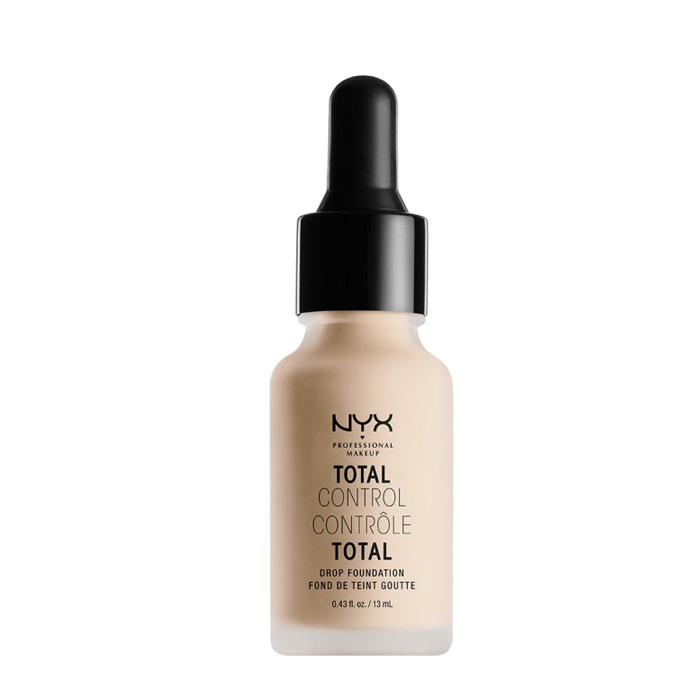 NYX PROF. MAKEUP Total Control Drop Foundation - Alabaster 13ml