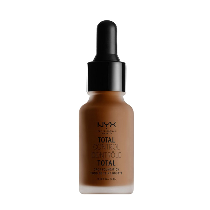 NYX PROF. MAKEUP Total Control Drop Foundation - Chestnut 13ml