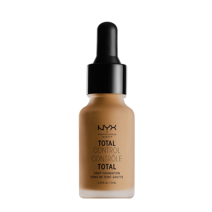 NYX PROF. MAKEUP Total Control Drop Foundation - Mahogany 13ml