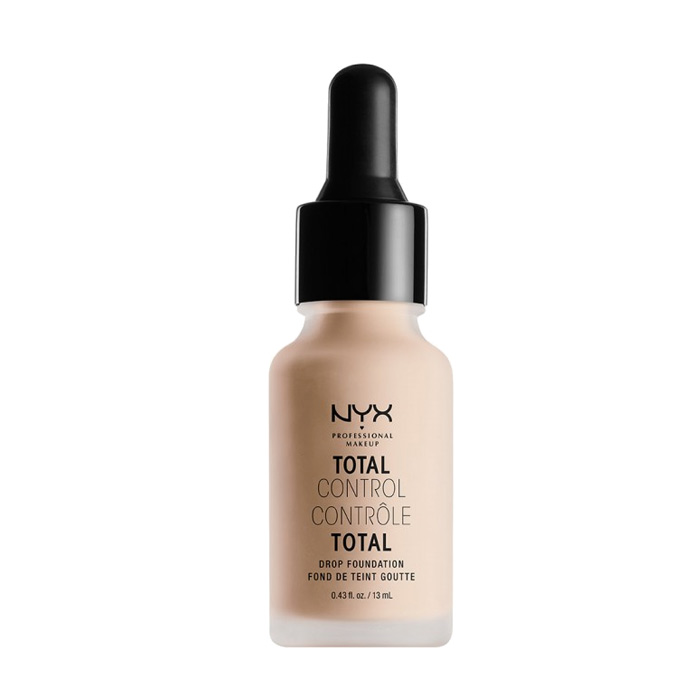 NYX PROF. MAKEUP Total Control Drop Foundation - Porcelain 13ml