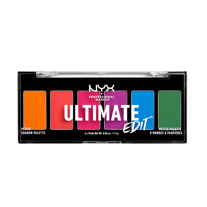 NYX PROF. MAKEUP Ultimate Shadow Palette Petite Edition - Brights